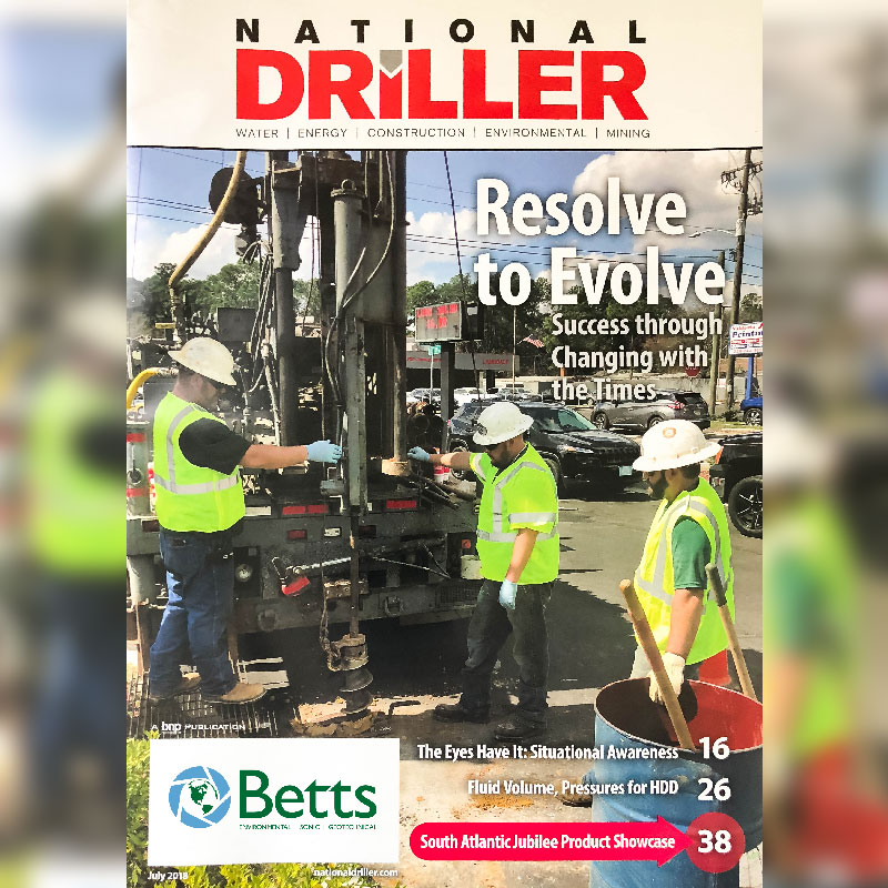 National Driller Feature Article Cover